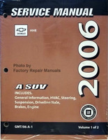 Service Manual Chevrolet HHR 2006 A SUV Volume 1, 2