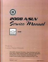 2008 Chevrolet HHR Factory Service Manual Shop Repair Set
