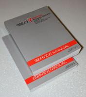 1993 PONTIAC TRANS SPORT MINI-VAN & CARGO Factory Shop Service Repair Manual Set