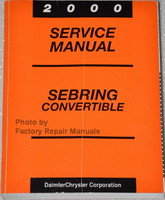 2000 Service Manual Sebring Convertible