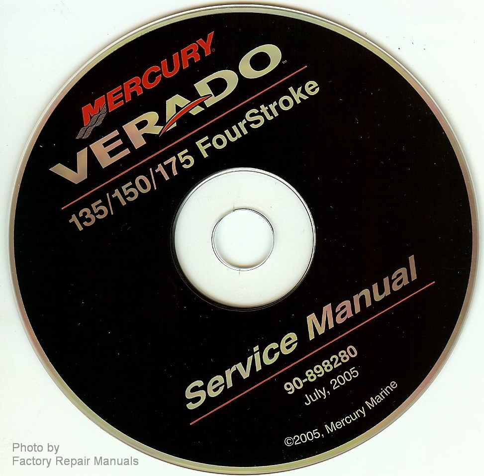 mercury 90hp 4 stroke service manual