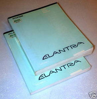 1993 Hyundai Elantra Factory Service Manual Set Original Shop Repair