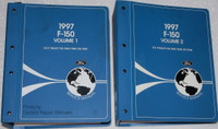 1997 F-150 F-250 Service Manual Volume 1 and 2