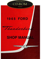 1965 Ford Thunderbird Factory Shop Manual CD T-Bird Complete Service Repair