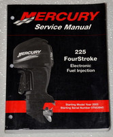 2003 - 2011 Mercury Outboard 225 Four Stroke EFI Factory Shop Service Repair Manual
