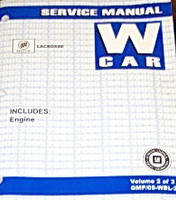 2005 Buick LaCrosse & Allure Factory Service Manual Shop Repair Set