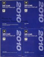 2010 Buick LaCrosse Service Manual Volume 1, 2, 3, 4