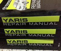 2009 Toyota Yaris Repair Manuals