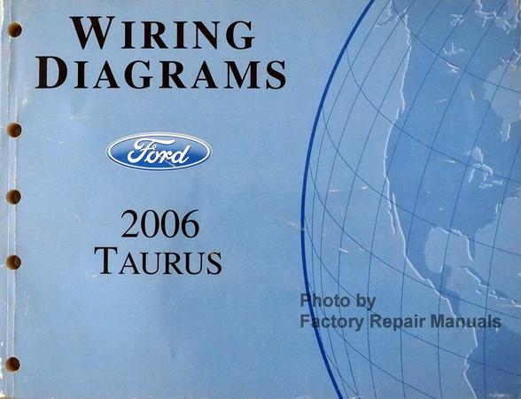 wiring diagrams ford 2006 taurus