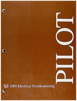 2005 Honda Pilot Electrical Troubleshooting Manual