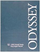 Honda 1999 Models Series Body Repair Manual Odyssey