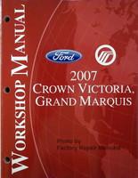 ford mercury 2007 crown victoria, grand marquis workshop manual