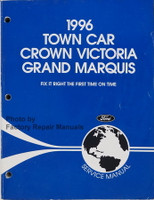 1996 Town Car Crown Victoria Grand Marquis Ford Service Manual