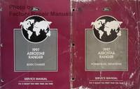 1997 Ford Aerostar, Ranger Service Manual Volume 1, 2