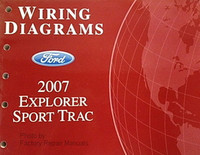 2007 Ford Explorer Sport Trac Electrical Wiring Diagrams Manual