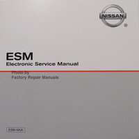 2009 Nissan 370Z ESM Electronic Service Manual
