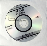 2008 Nissan Titan Electronic Service Manual CD-ROM