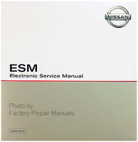 2001 Nissan Xterra Factory Service Manual CD-ROM