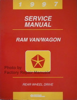 1997 Service Manual Dodge Ram Van/Wagon Rear Wheel Drive