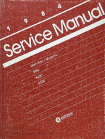 1984 Dodge Ram Van & Wagon B-150 B-250 B-350 Service Manual