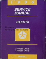 1996 Service Manual Dakota