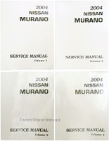 2004 Nissan Murano Factory Service Manuals