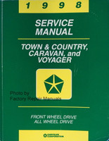 1998 Service Manual Town & Country, Caravan and Voyager