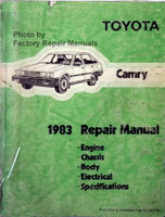 Toyota Camry 1983 Repair Manual