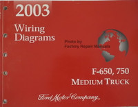 2003 Ford F650 F750 Medium Truck Wiring Diagrams