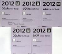 2012 GM D-Car Cadillac CTS/CTS-V Service Manual Volumes 1 - 5