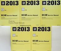 GM 2013 Cadillac CTS D/Car Service Manual Volume 1, 2, 3, 4, 5