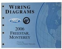 Wiring Diagrams Ford Mercury 2006 Freestar, Monterey