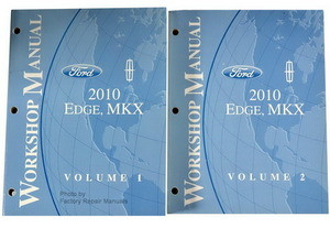 Ford Lincoln 2010 Edge, MKX Workshop Manual Volume 1, 2