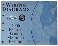 2006 Ford Escape Hybrid, Mercury Mariner Hybrid Electrical Wiring Diagrams