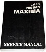 1996 Nissan Maxima Factory Shop Service Manual