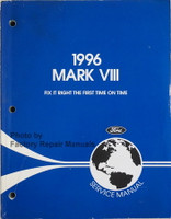 1996 Mark VIII Ford Service Manual
