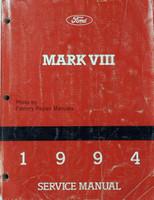 1994  Mark VIII Service Manual