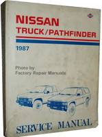 Nissan Truck/Pathfinder 1987 Service Manual