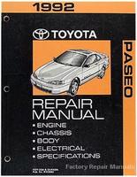 1992 Toyota Paseo Repair Manual