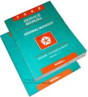 1995 Chrysler Sebring & Dodge Avenger Factory Shop Service Manual Set