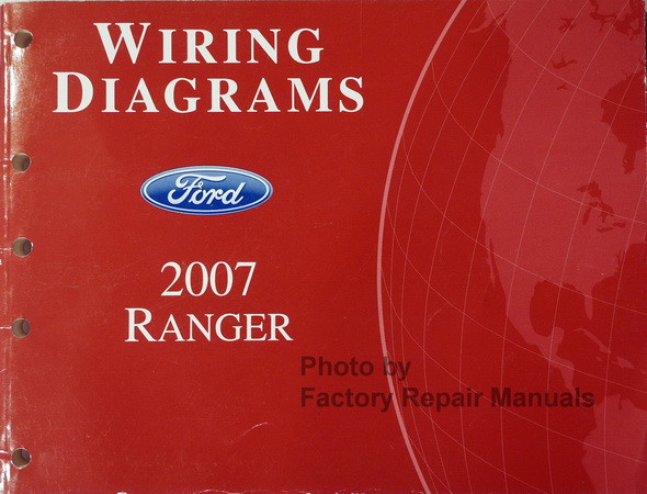2007 Ford Ranger Truck Electrical Wiring Diagrams Original