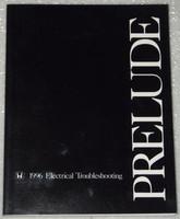 1996 HONDA PRELUDE Electrical Troubleshooting Manual - Original Factory Shop ETM