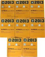 2013 Chevy Silverado and GMC Sierra Factory Service Manuals Volumes 1 - 8