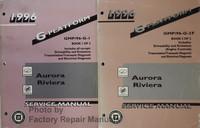 1996 G Platform Aurora Riviera Service Manual Volume 1, 2