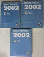 2002 Buick Century, Regal Service Manual Volume 1, 2, 3
