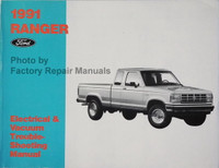 1991 Ranger Ford Electrical and Vacuum Troubleshooting Manual