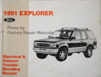 1991 Explorer Ford Electrical & Vacuum Troubleshooting Manual