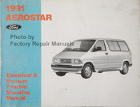1991 Aerostar Ford Electrical & Vacuum Troubleshooting Manual