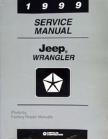 1999 Service Manual Jeep Wrangler