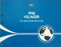 Ford 1996 Villager Electrical & Vacuum Troubleshooting Manual